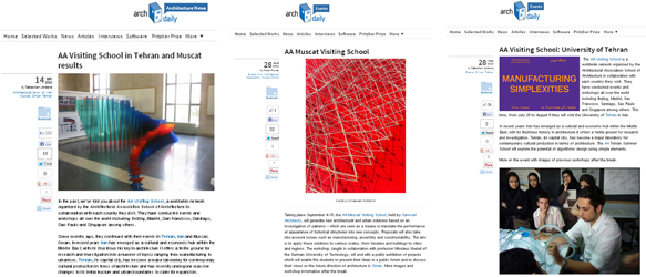 Arch Daily: AA Visiting Schools