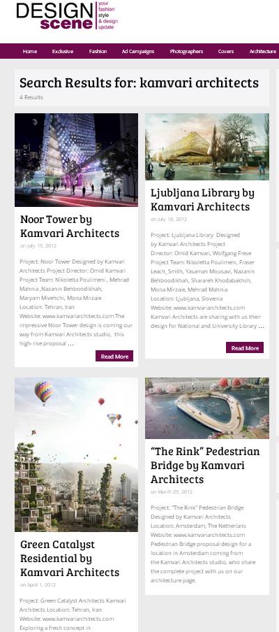DesignScene - 4projects