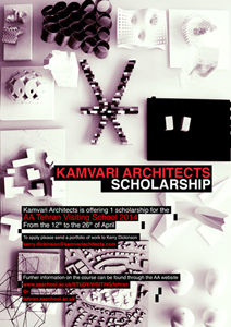 Kamvari Architects Scholarship – AA Tehran Visiting School 2014