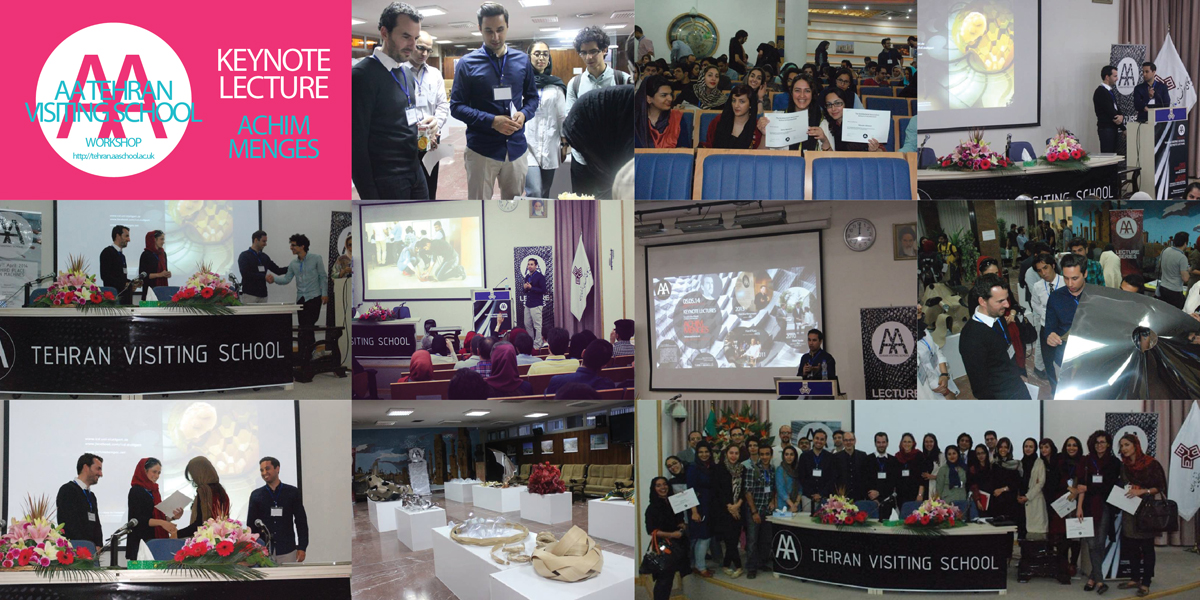 AA Visiting School Tehran – Keynote Lecture