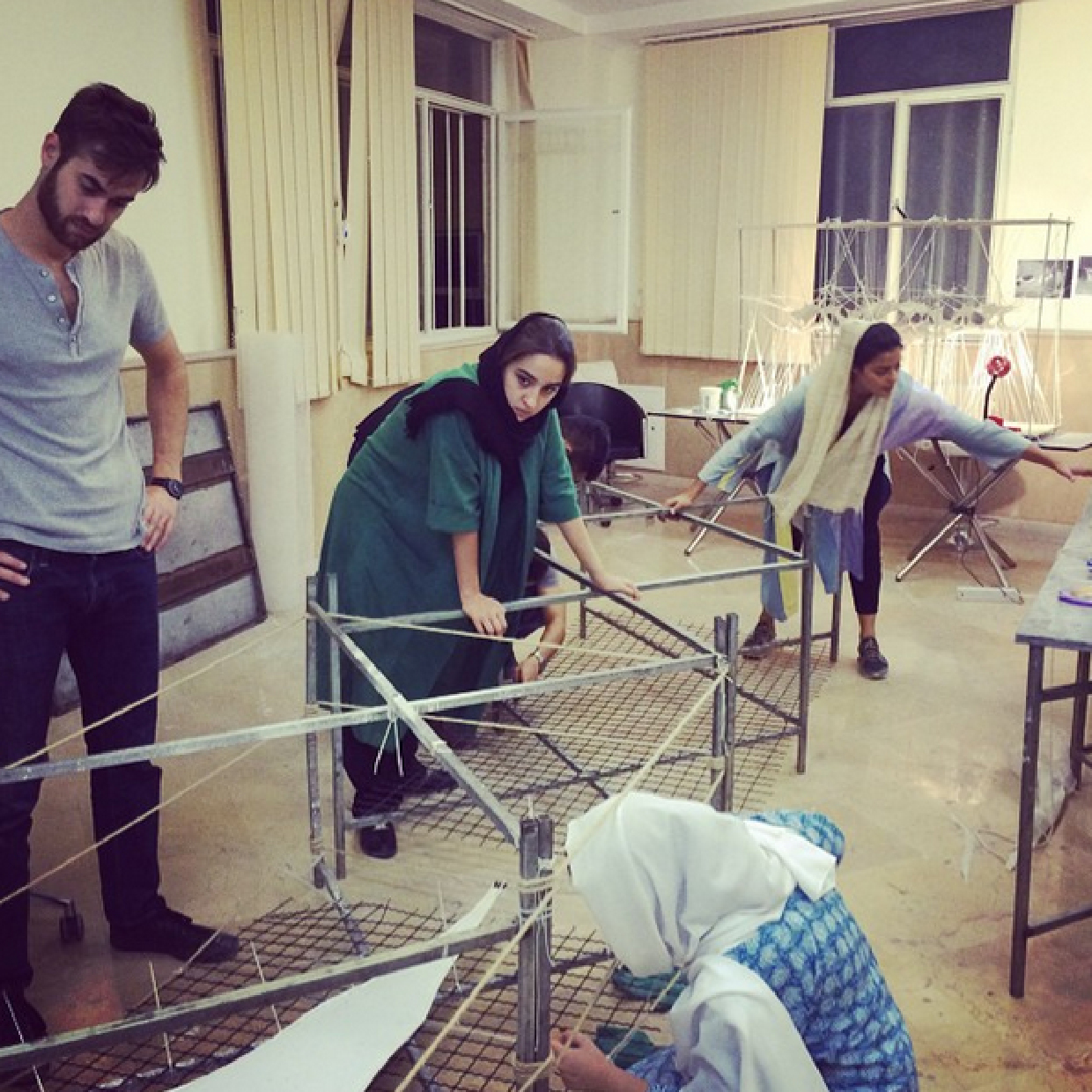 AA Tehran Visiting School….Workshop so far!