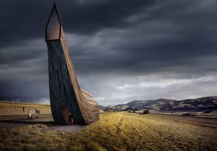 Kamvari Architects- Siberian Retreat-View 2_2