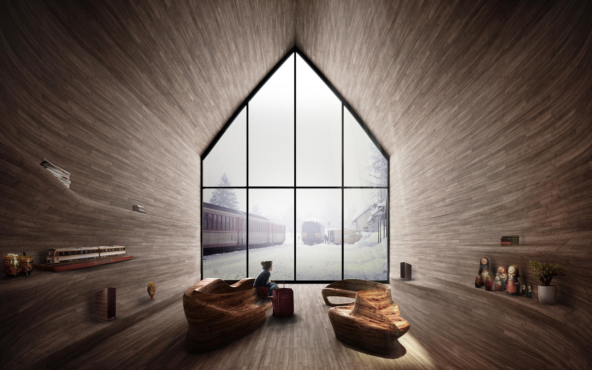 Kamvari Architects- Siberian Retreat-View 4-sm