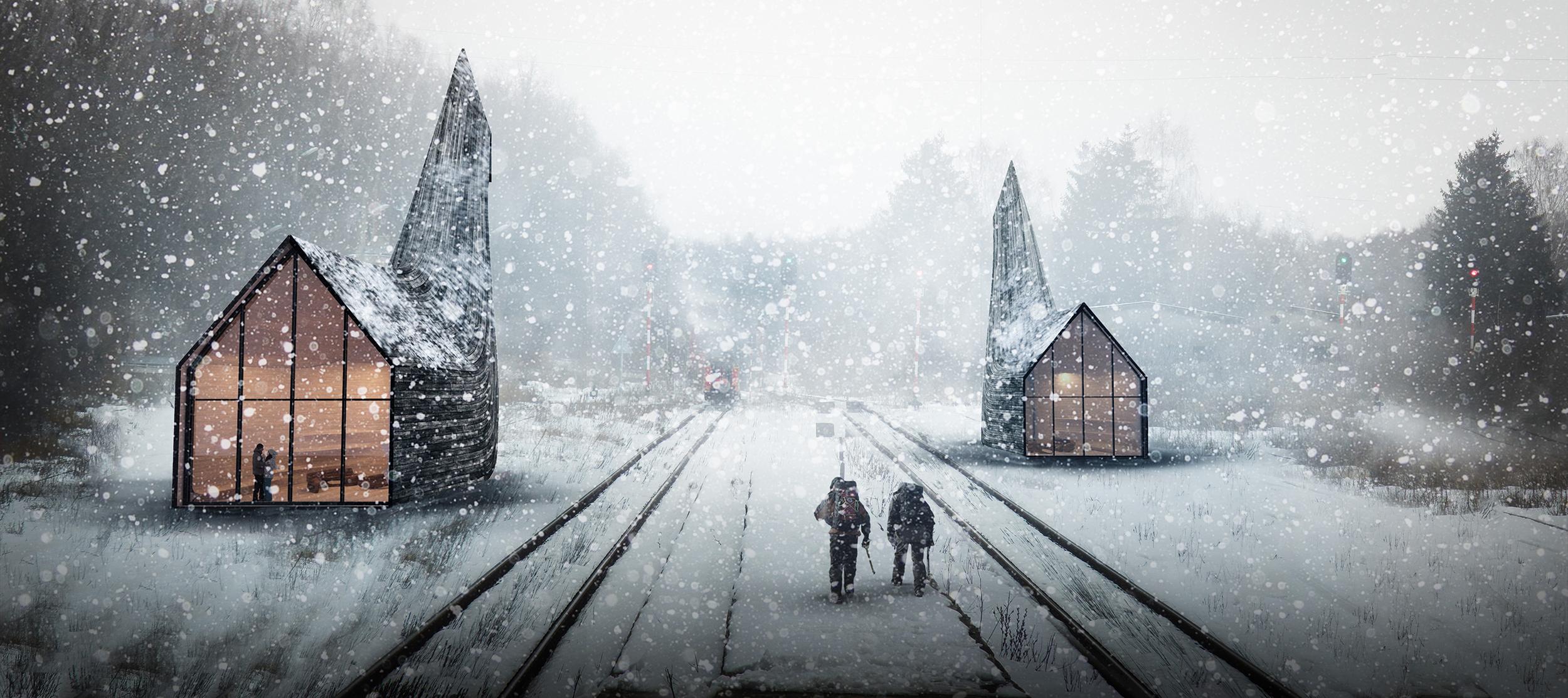 Kamvari Architects- Siberian Retreat-view 1-1-SM