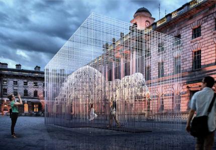 Kamvari Architects- Iran Pavilion- London Desing Biennale